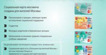 Социальная карта москвича: кому положена и что дает