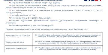 Особенности пользования кредитной картой банка ВТБ24