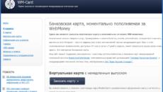 Карта WebMoney: как получить виртуальную и пластиковую карточку