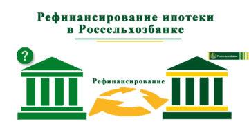 Рефинансирование ипотеки в Россельхозбанке: условия