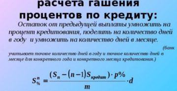 Расчет процентов по займу: формула