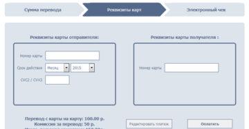 Перевод с карты Открытие на карту Сбербанка